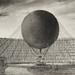 Mr. Henri Giffard's Steam Captive Balloon by the artist Albert Tissandier (1839-1906). Original from Library of Congress. Digitally enhanced by rawpixel.