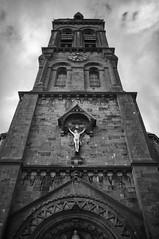 Sligo Cathedral (Infrakrasnyy) Tags: infrared bw 093 deep black white colorless monochrome sony nex 5n full spectrum ireland erie irish sligo cathedral