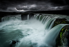 Goðafoss (Pétur Gunn Photograpphy) Tags: foss waterfall travel flickr sony iceland earthpix nature pure purenature clean