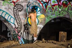 And I Shot the Story Because I Didn't Hear it That Way (Thomas Hawk) Tags: america california losangeles losangelesriver usa unitedstates unitedstatesofamerica bridge graffiti river fav10 fav25 fav50