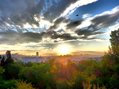 Sunrise - Gündoğumu - Sonnenaufgang (unHombre) Tags: olympus qmd em5ii em5markii cityscape landscape clouds istanbul city sky sunrise dramatictone