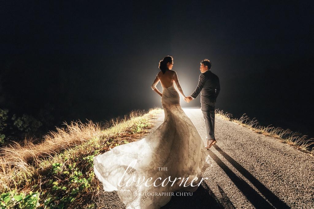 台南婚紗|完美婚紗照的那一抹夢幻逆光!愛情街角&賽西亞禮服