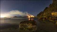 Burning Box Head B (GTV6FLETCH) Tags: bouddinationalpark boxhead bushfire umina nsw australia nightphotography night nswcentralcoast stars canon canoneos5dsr centralcoast canonef1635mmf4lis canon1635mmf4isl 5dsr 5dsrcanon canon5dsr
