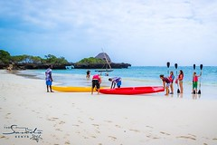 Make the most of your holiday with a fun-filled family kayak ride around the island. #kayaking #watersports #indianocean #whyilovekenya (The Sands Kenya) Tags: beach island kenya africa indian ocean diani