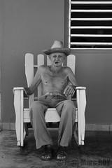 Cuba - Vinales (jmroyphoto) Tags: cigare cuba homme jmroyphoto nb noiretblanc portrait rue street vinales