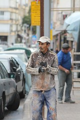 IMG_1100 (Medium) (gilsch) Tags: israel telaviv jafa yaffo urban man work builder
