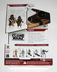 jawas cw08 star wars the clone wars red white packaging basic action figures 2009 hasbro mosc b (tjparkside) Tags: jawas jawa 1 2 one two star wars clone cw08 cw 08 tcw red card 2009 2x x hood robe holster blaster rifle pistol hoods robes holsters blasters rifles pistols desert scavenger scavengers tatooine white packaging basic action figures hasbro mace windu admiral yularen commander gree arf trooper troopers heavy assault super battle droid droids