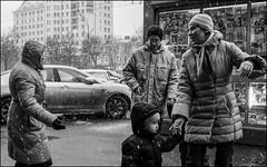 5_DSC4978 (dmitryzhkov) Tags: urban city everyday public place outdoor life human social stranger documentary photojournalism candid street dmitryryzhkov moscow russia streetphotography people man mankind humanity bw blackandwhite monochrome snow snowfall badweather