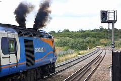 A drop of the Black stuff. (Chris Baines) Tags: east midlands hst departing parkway london st pancras nottingham service