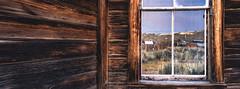 Wood & Reflection (Vasily Spirin) Tags: linhof technorama 617s film fujifilm velvia oncewashome bodie ghosttown