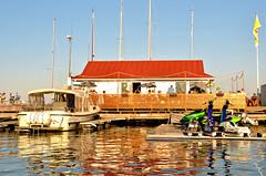 Bryggan (Basse911) Tags: restaurant bar bryggan boat jetski östrahamnen itäsatama easternharbour summer kesä sommar juli heinäkuu july hangö hanko finland suomi nordic