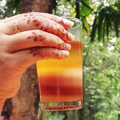 The 7 layers of happiness 😊 (ri.rakibulislam) Tags: tea explore bangladesh note8 mobilephotography 7layertea bangladeshiphotographers