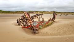 The Wreck of the Sea Mack (Aliy) Tags: wreck boat oldboat seamack crowpoint devon northdevon beach coast abandoned