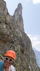 La Noire de Peuterey (Henri Eccher) Tags: paysage thierryvescovi françois alpinisme aiguillenoiredepeuterey potd:country=fr bivouacborelli montblanc paysagedemontagne panorama montagne vero henri valvény