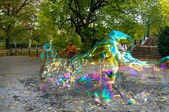 (maxinepowerr) Tags: newyork thebigapple city landscape centralpark park bubbles