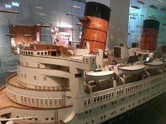 Queen Mary Model in SeaCity Southampton (John D McDonald) Tags: england britain greatbritain wessex geotagged iphone iphone7plus appleiphone appleiphone7plus gatewaytotheworld modelship queenmary queenmarymodel rmsqueenmary cunard liner oceanliner seacity seacitysouthampton seacitymuseum museum titanic titanichistory