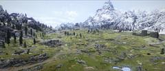 Green lod (Kochik212) Tags: skyrim tesv mods nexus screenshot game games fantasy tes landsacape
