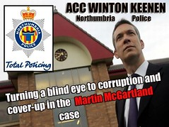 Northjumbria PoliceCorruption in Martin McGartland cases (ExposingCorruption) Tags: police corruption northumbria cover up martin mcgartland attempted murder by ipa terrorists