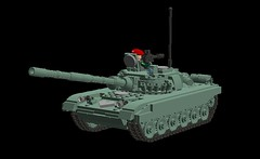T-72 main battle tank (demitriusgaouette9991) Tags: lego military army ldd armored powerful vehicle tank turret