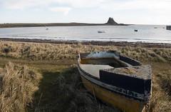 Abandoned boat (Marton pics) Tags: vikings castle holy island ancient sea beach boat abandoned historic