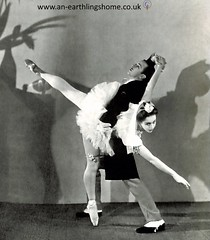 Mary Honer and Robert Helpmann. 1944 (albutrosss) Tags: ballet dancing mary honer robert helpmann albutross