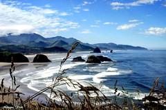 Canon Beach (moniquef123) Tags: beach canonbeach oregon coast sea seashore ocean waves scenic landscape nature beautiful