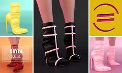 EQUAL - Kayla Boots (EQUAL SL) Tags: secondlife shoes heels boots equal access slink belleza maitreya
