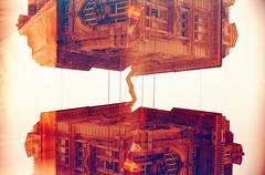 (von8itchfisk) Tags: noedit incamera redscale lomography f2400 35mm analog analogphotography architecture doubleexposure olympus om10 vonbitchfisk italy genoa genova ishootfilm film filmisnotdead