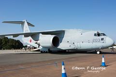 C2-203-68-1203-14-7-18-RAF-FAIRFORD-RIAT18-(2) (Benn P George Photography) Tags: raffairford riat18 14718 bennpgeorgephotography c2 kawasaki 203 681203