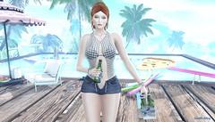 Summer chill (Millarca 2010 (Carmilla Halasy)) Tags: blueberry no59 truth lelutka glamaffair