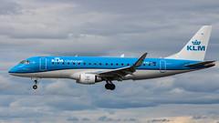 Photo of KLM Embraer ERJ175STD+ PH-EXG