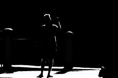 Walk This Way  !!! (imagejoe) Tags: vegas nevada street strip black white photography photos shadows reflections tameron people nikon