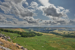 View From Stanage Edge (Bri_J) Tags: stanageedge peakdistrict nationalpark hathersage derbyshire uk countryside nikon d7200 hdr clouds sky