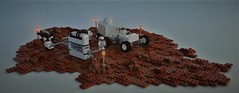 VIKING Rover on Mars - at the fueling-station (adde51) Tags: adde51 lego moc mars cb space rover fuel fuelingstation austronaut