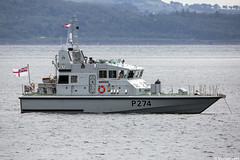 The RN Archer-class patrol boat HMS Tracker, P274; the Holy Loch, Firth of Clyde, Scotland (Michael Leek Photography) Tags: rn royalnavy britainsnavy britainsarmedforces firthofclyde scotland scottishcoastline scotlandslandscapes scottishshipping westcoastofscotland westernscotland faslane hmnbclyde hmsneptune archerclass patrolship patrolvessel patrolboat warship nato gareloch holyloch michaelleek michaelleekphotography strone