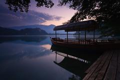 IMG_8320 (Bartek Rozanski) Tags: bled blejskigrad gorenjska pletna slovenia lake dawn water reflection karawanke karawanken mountains alps alpine julian