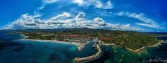 Porto Ottiolu (luca_foletto) Tags: sea sky yatch nave porto spark fly sardinia sardegna drone djiglobal dji