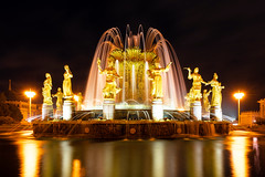 Friendship of Nations fountain (gubanov77) Tags: moscow russia night vdnh fountain fountainfriendshipofpeoples вднх longexposure moscowphotography sculptures design outdoor mosfotki nightlight nightreflection park sovietarchitecture tourism water