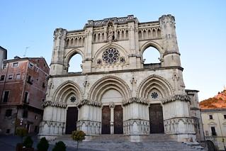 Catedral de Santa María y San Julián (Cuenca, Castilla-La Mancha, España, 17-6-2018)