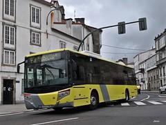 Castrosua Versus Scania 2332 de Urbanos de Santiago de Compostela. (Bus Box) Tags: autobus bus santiagodecompostela urbano transportepublico tussa tralusa castrosua monbus