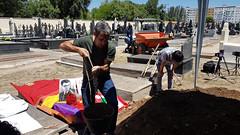 Jesus Carreraren gorpuzkinen exhumazioa