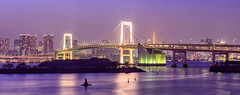 Rainbow Bridge (harrysio) Tags: tokyo bridge rainbowbridgesunset citiscape landscape japan city architecture