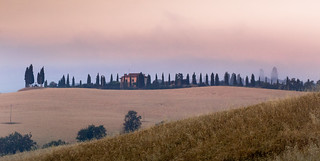 Sunrise at Val d'Orcia