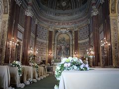 4376 - Central nave (Diego Rosato) Tags: centrale nave navata chiesa church fiori flowers matromonio wedding fuji x30 rawtherapee