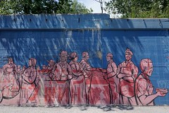 Nick Goettling #universityvillage (drew*in*chicago) Tags: nickgoettling chicago 2018 mural tag street art artist project outdoor people community