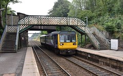 Woodley Greater Manchester 13th August 2018 (loose_grip_99) Tags: woodley greater manchester railway railroad rail greatcentral gcmrjr northwest cheshire cheshirelinescommittee clc station diesel multiple unit class142 142033 junction footbridge transportation trains railways england uk august 2018 victorian pregrouping