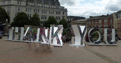 THANK YOU - Victoria Square, Birmingham (ell brown) Tags: victoriasquare birmingham westmidlands england unitedkingdom greatbritain sign thankyou royalbritishlegion ww1 worldwarone firstworldwar thegreatwar memorial floozieinthejacuzzi birminghamuk