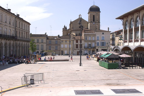 Place du Marché, Marmande