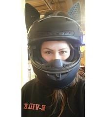 Serious business. P (BikerKarl2018) Tags: serious business p badass motorcycle helmet store biker stuff motorcycles