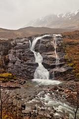 Glencoe Waterfall (TheOtter) Tags: glencoe scotland mountains waterfall